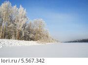 Купить «Зимний морозный день», эксклюзивное фото № 5567342, снято 22 января 2014 г. (c) Елена Коромыслова / Фотобанк Лори