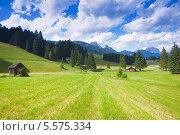 Купить «Валь-ди-Фьемме - долина в Италии в области Трентино, Альто-Адидже летом», фото № 5575334, снято 8 июля 2012 г. (c) Наталия Македа / Фотобанк Лори