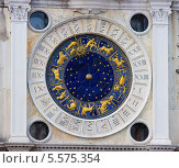 Купить «Часы на площади Сан Марко, Венеция, Италия», фото № 5575354, снято 24 февраля 2009 г. (c) Наталия Македа / Фотобанк Лори