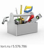 Ящик с инструментами. Стоковая иллюстрация, иллюстратор Maksym Yemelyanov / Фотобанк Лори