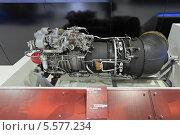 Купить «Международный авиационно-космический салон МАКС-2013. Турбовальный двигатель ВК-2500П вертолетов Ми-28, Ка-52, Ми-24, Ми-8 и их модификаций», фото № 5577234, снято 27 августа 2013 г. (c) Игорь Долгов / Фотобанк Лори