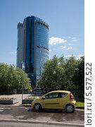Купить «Москва-Сити», фото № 5577522, снято 21 июня 2012 г. (c) Юлий Шик / Фотобанк Лори