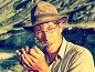 Мужчина в очках с курительной трубкой на Алтае, фото № 5579798, снято 26 июля 2007 г. (c) Serg Zastavkin / Фотобанк Лори