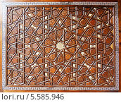 Купить «Детали двери мечети Сулеймание», фото № 5585946, снято 22 ноября 2019 г. (c) Mikhail Starodubov / Фотобанк Лори