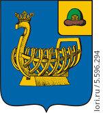 Купить «Герб города Касимова», иллюстрация № 5596294 (c) VectorImages / Фотобанк Лори