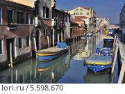 Канал в Венеции (2013 год). Редакционное фото, фотограф Алексей Яковлев / Фотобанк Лори