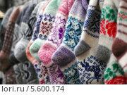 Шерстяные носки. Стоковое фото, фотограф Insomnia / Фотобанк Лори