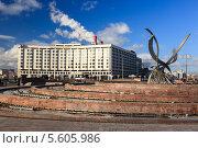 Купить «Гостиница «Рэдиссон Славянская» (Radisson Slavyanskaya Hotel). Москва», фото № 5605986, снято 20 апреля 2011 г. (c) Василий Вишневский / Фотобанк Лори