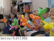 Купить «Дети в детском саду», фото № 5611950, снято 19 февраля 2014 г. (c) Айнур Шауэрман / Фотобанк Лори