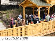 Источник Преподобного Серафима Саровского близ поселка Цыгановка (2013 год). Редакционное фото, фотограф Алёшина Оксана / Фотобанк Лори