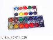 Купить «Акварельные краски», фото № 5614526, снято 6 ноября 2013 г. (c) lanych / Фотобанк Лори