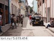 Улица в старой Гаване (2013 год). Редакционное фото, фотограф Дмитрий Емушинцев / Фотобанк Лори