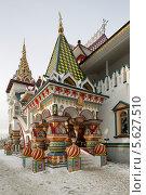 Москва, Измайловский кремль, архитектура в Русском стиле (2014 год). Редакционное фото, фотограф Дмитрий Неумоин / Фотобанк Лори