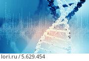 Купить «Молекула ДНК - носитель генома человека», фото № 5629454, снято 18 февраля 2020 г. (c) Sergey Nivens / Фотобанк Лори