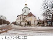 Купить «Успенский собор в Твери», фото № 5642322, снято 3 января 2014 г. (c) Alexander Mirt / Фотобанк Лори
