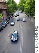 Купить «Правая набережная реки Мтквари. Тбилиси. Грузия», фото № 5645162, снято 3 июля 2013 г. (c) Евгений Ткачёв / Фотобанк Лори