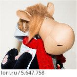 Декоративная игрушка в виде коровы (2013 год). Редакционное фото, фотограф Юля С. / Фотобанк Лори