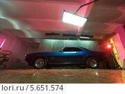 """Купить «Автомобиль """"Chevrolet Camaro SS"""" выпуска 1969 года», фото № 5651574, снято 24 октября 2010 г. (c) Losevsky Pavel / Фотобанк Лори"""