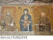 Купить «Мозаика в соборе Святой Софии в Стамбуле», фото № 5652614, снято 12 января 2012 г. (c) Надежда Болотина / Фотобанк Лори