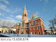 Купить «Церковь Воскресения Христова в Кадашах в Москве зимой», эксклюзивное фото № 5658674, снято 27 января 2014 г. (c) lana1501 / Фотобанк Лори