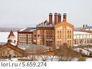 Купить «Жигулевский пивоваренный завод в городе Самара», фото № 5659274, снято 23 февраля 2014 г. (c) Ален Лагута / Фотобанк Лори
