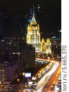 Купить «Гостиница Украина. Вид с Нового Арбата», фото № 5665370, снято 12 ноября 2011 г. (c) Евгения Шитюк / Фотобанк Лори