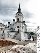 Купить «Церковь равноапостольного князя Владимира в Старых Садах в Москве весной», эксклюзивное фото № 5665466, снято 22 марта 2011 г. (c) lana1501 / Фотобанк Лори