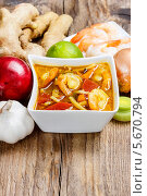 Тайский кислый суп. Стоковое фото, агентство BE&W Photo / Фотобанк Лори