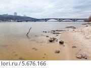 Киев. Мост Метро (2013 год). Редакционное фото, фотограф Светлана Мамина / Фотобанк Лори