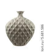 Современная ваза на белом фоне. Стоковое фото, фотограф Никита Буйда / Фотобанк Лори