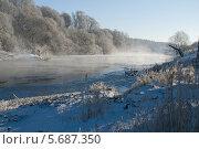 Зимняя стужа. Стоковое фото, фотограф Любовь Белоусова / Фотобанк Лори