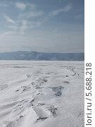 Снег на Байале. Стоковое фото, фотограф Ева Наделяева / Фотобанк Лори