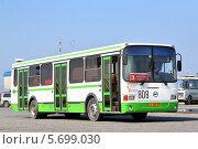 Купить «Автобус ЛиАЗ-5256, Новый Уренгой, Россия», фото № 5699030, снято 17 июля 2013 г. (c) Art Konovalov / Фотобанк Лори