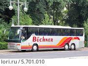 Купить «Автобус Setra S416GT-HD», фото № 5701010, снято 12 сентября 2013 г. (c) Art Konovalov / Фотобанк Лори