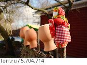 Тряпичная кукла оберег. Стоковое фото, фотограф Юлия Сагитова / Фотобанк Лори