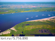 Вид с воздуха на северную Якутию. Стоковое фото, фотограф Serg Zastavkin / Фотобанк Лори
