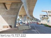 Строительство двухуровневой дороги. Стоковое фото, фотограф Кропотов Лев / Фотобанк Лори