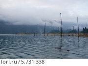 Рассвет на озере (2013 год). Стоковое фото, фотограф Анна Кузнецова / Фотобанк Лори
