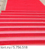 Купить «Фрагмент красной ковровой дорожки в Каннах. Франция», фото № 5756518, снято 13 июня 2008 г. (c) Екатерина Овсянникова / Фотобанк Лори