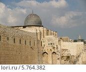 Купить «Израиль. Мечеть аль-Акса в Иерусалиме», фото № 5764382, снято 9 октября 2012 г. (c) Ирина Борсученко / Фотобанк Лори