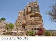 Купить «Йемен, дворец имама в Вади-Дхар в Сане», фото № 5765318, снято 18 марта 2014 г. (c) Овчинникова Ирина / Фотобанк Лори