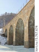 Старый мост. Стоковое фото, фотограф Ева Наделяева / Фотобанк Лори