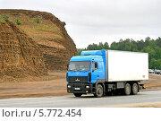 Грузовик МАЗ-6310 (2009 год). Редакционное фото, фотограф Art Konovalov / Фотобанк Лори