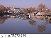 Мост Мира в Тбилиси (2014 год). Редакционное фото, фотограф Вероника Денега / Фотобанк Лори