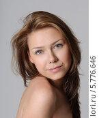 Красивая девушка. Стоковое фото, фотограф Анастасия Герасимова / Фотобанк Лори
