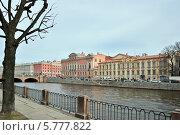 Купить «Фонтанка. Петербург», эксклюзивное фото № 5777822, снято 5 апреля 2014 г. (c) Александр Алексеев / Фотобанк Лори