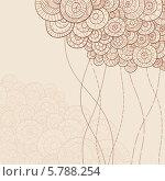 Купить «Монохромный абстрактный фон», иллюстрация № 5788254 (c) Алексей Зайцев / Фотобанк Лори