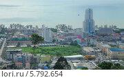 Купить «Вид на Патонг (Patong Beach) на острове Пхукет. Вид со смотровой площадки Патонг Хилл», видеоролик № 5792654, снято 25 сентября 2013 г. (c) Roman Likhov / Фотобанк Лори