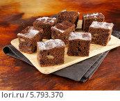 Купить «шоколадно-тыквенные пирожные», фото № 5793370, снято 16 августа 2018 г. (c) Food And Drink Photos / Фотобанк Лори