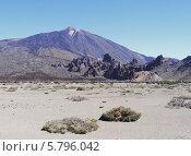 Купить «Вулкан Тейде на острове Тенерифе», фото № 5796042, снято 25 июня 2013 г. (c) Екатерина Басова / Фотобанк Лори